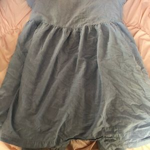 Dresses - 3 for $12 Light Blue Button Up Dress
